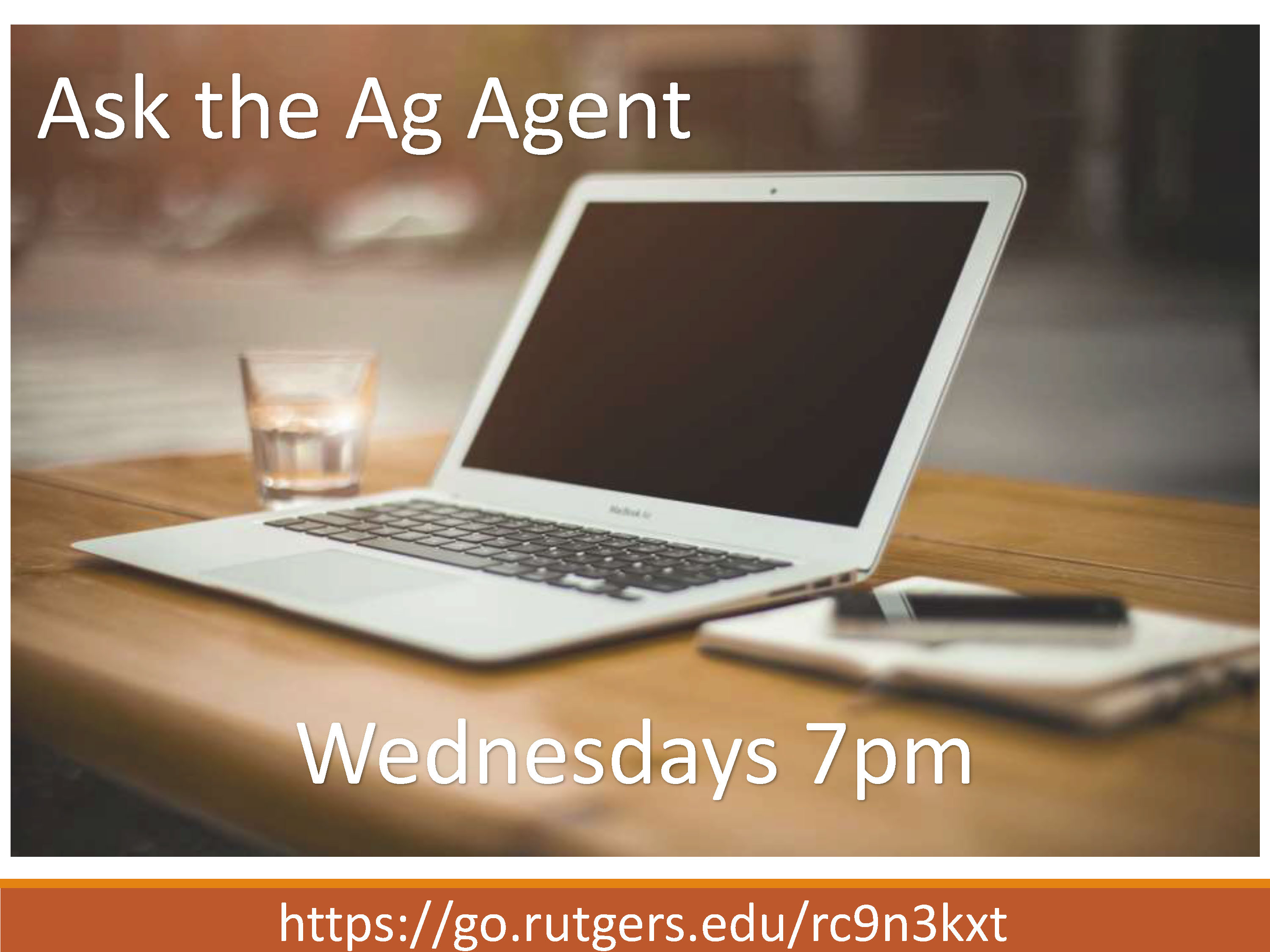 Ask the Ag Agent Promo Image
